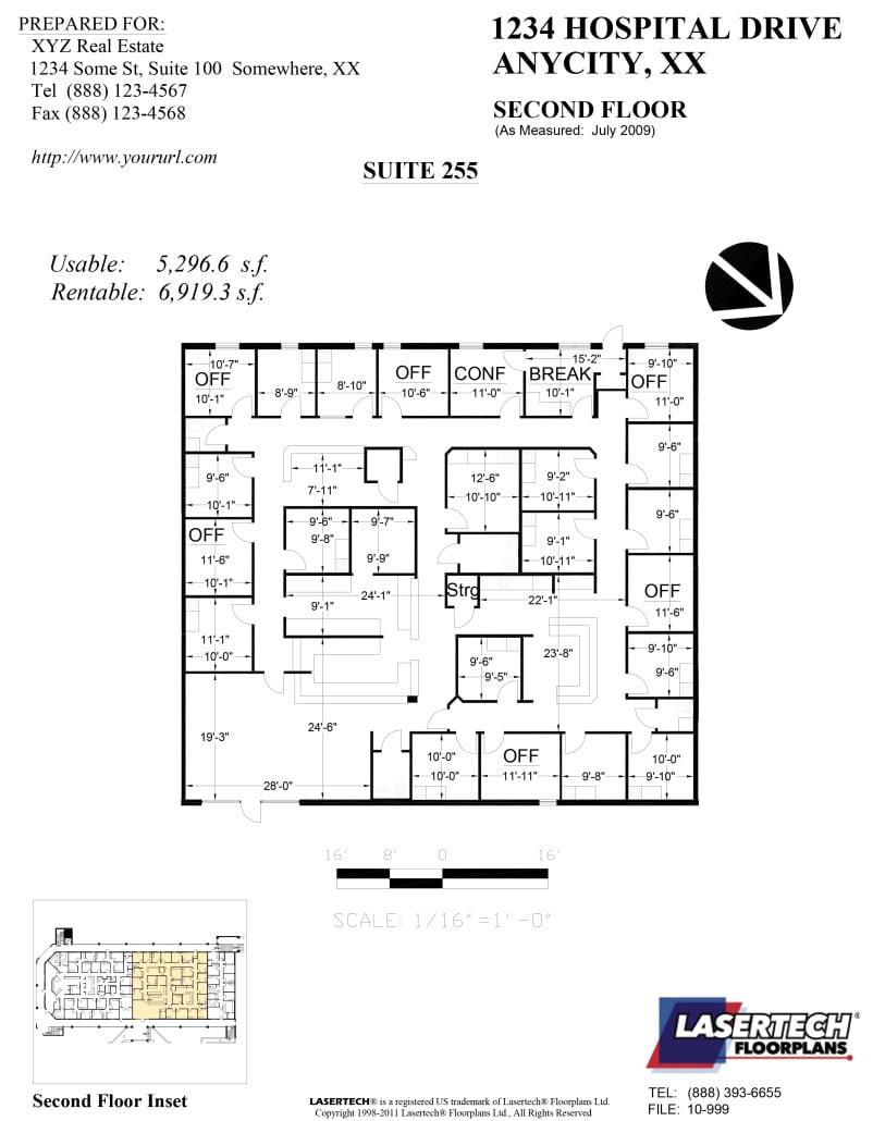 lasertech suite plans